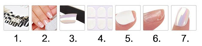 เทปสองหน้าติดเล็บปลอม vs วิธีติดเทปสองหน้ากับเล็บปลอม